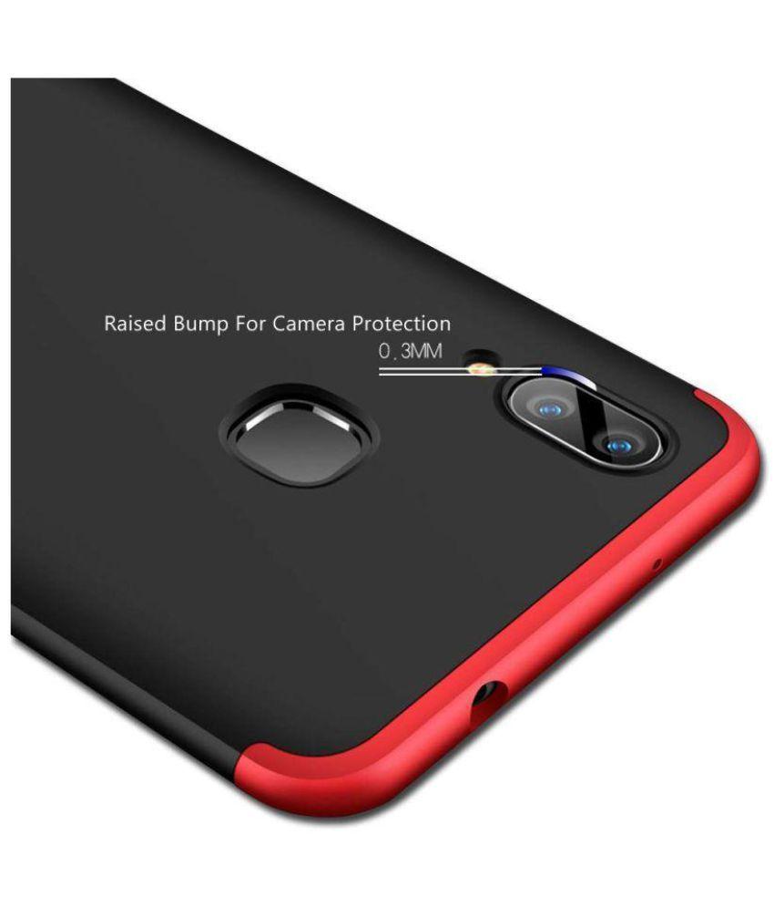 Vivo V9 Hybrid Covers Jma Red Original Gkk 360 Protection Slim Speaker Bluetooth Special  Opening Case