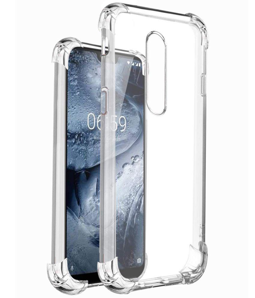quality design 37b7b 32014 Nokia 6.1 Plus (Nokia X6) Bumper Cases SpectraDeal - Transparent ...