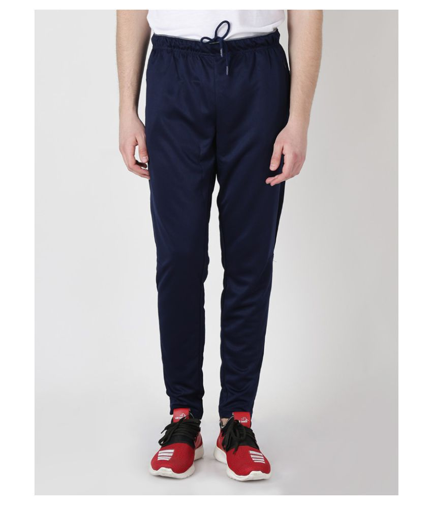 Alcis Mens Blue Active Track Pants