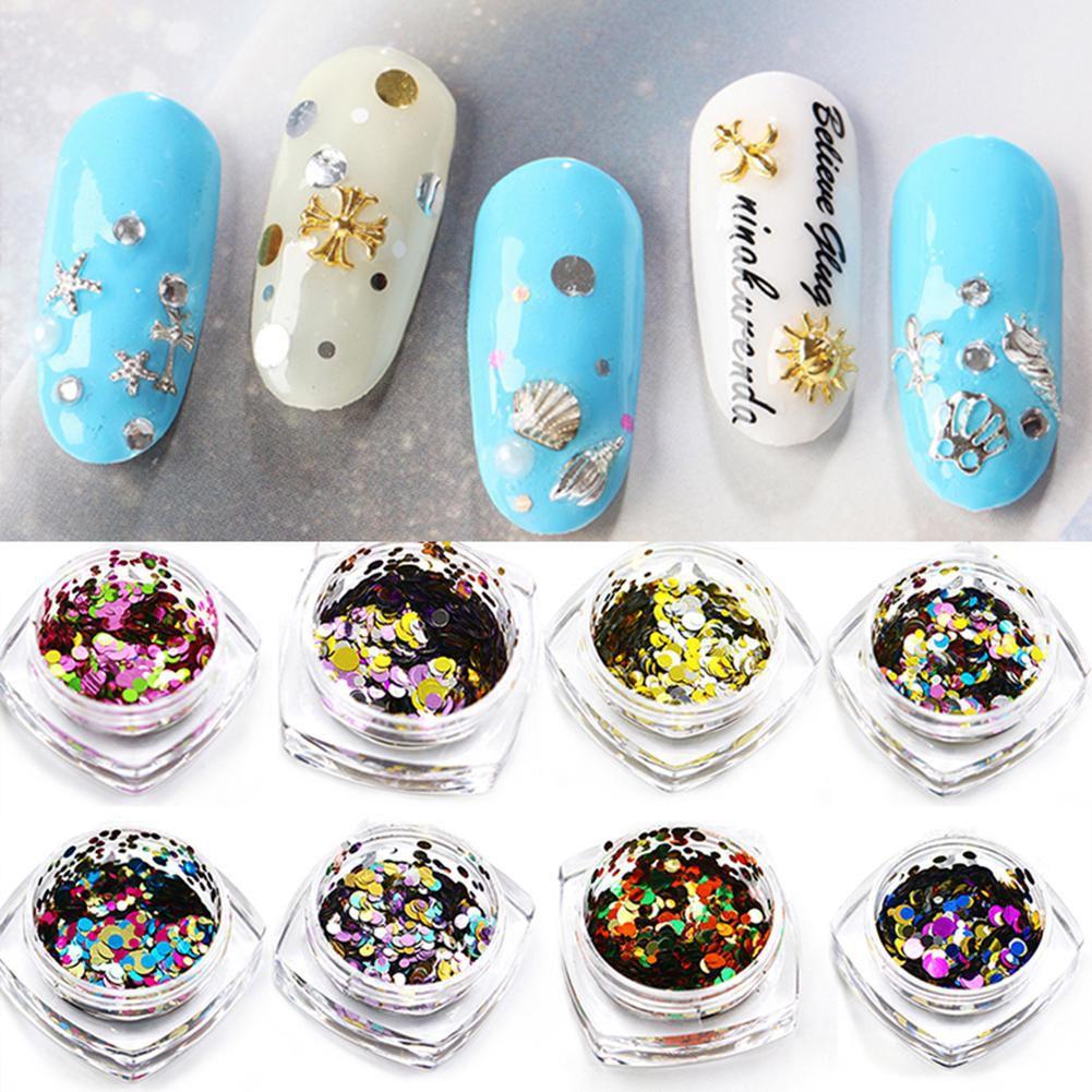 Generic Nail Polish multicolor multicolor Glitter unknown l