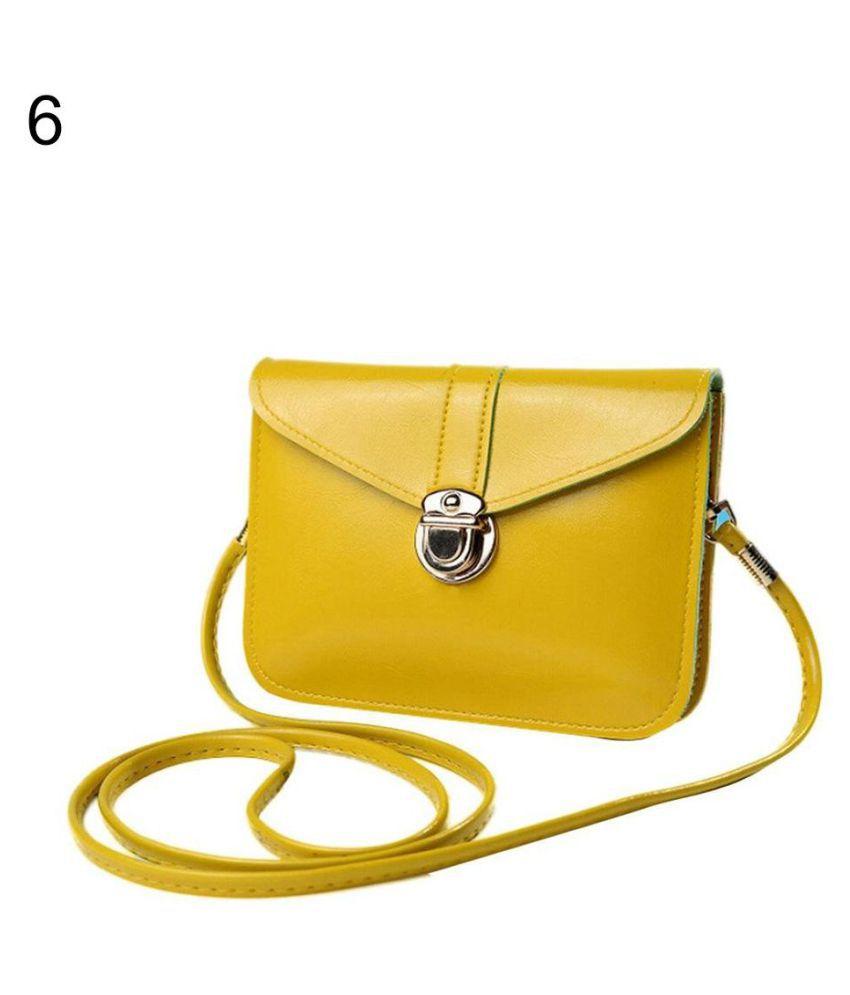Generic Multi Faux Leather Shoulder Bag