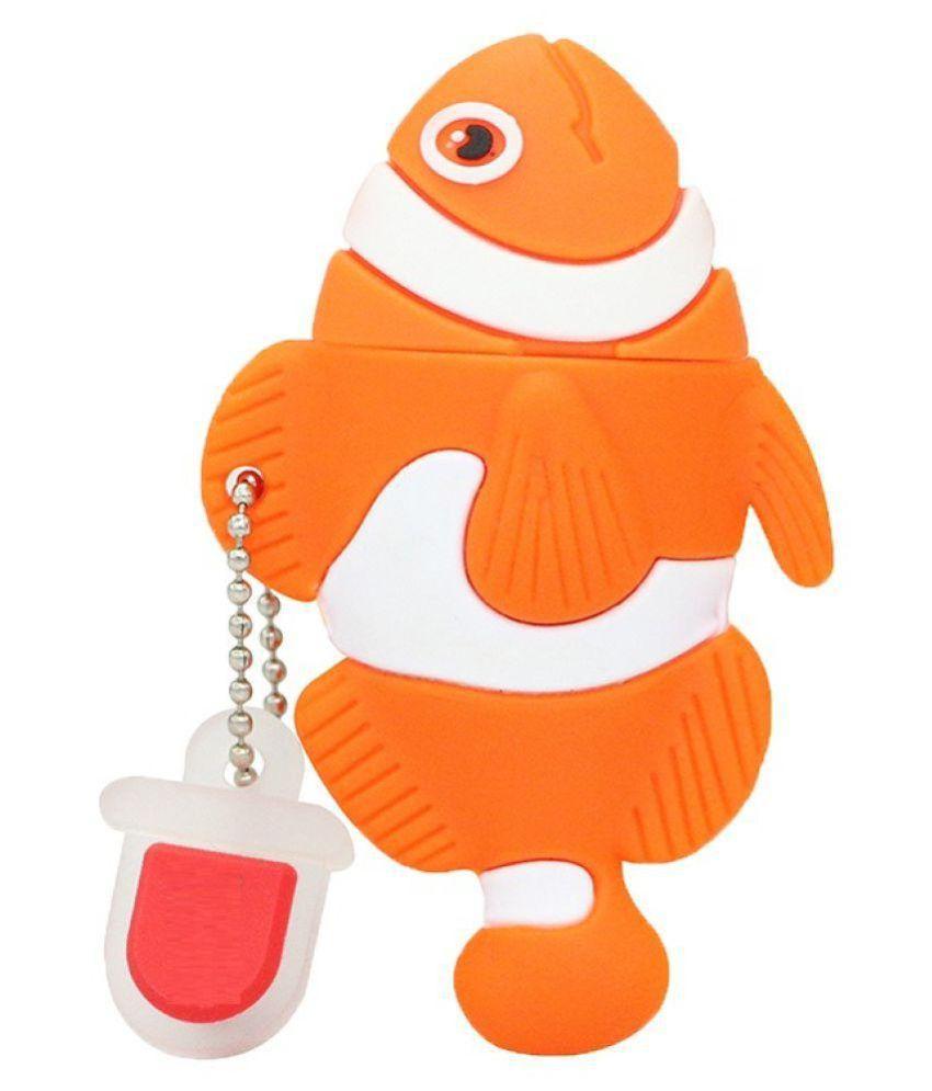 Pankreeti Clown Fish 32GB USB 2.0 Fancy Pendrive Pack of 1