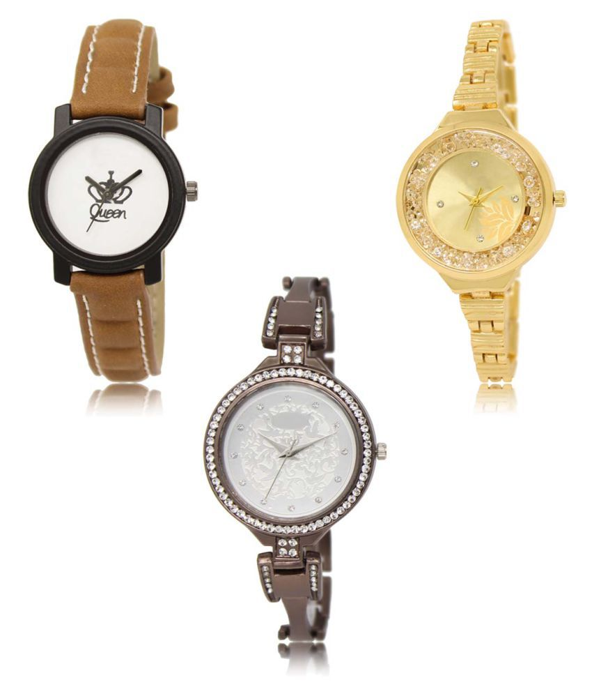 Analog Exclusive Mens Watches Combo of 3 LR209-224-236