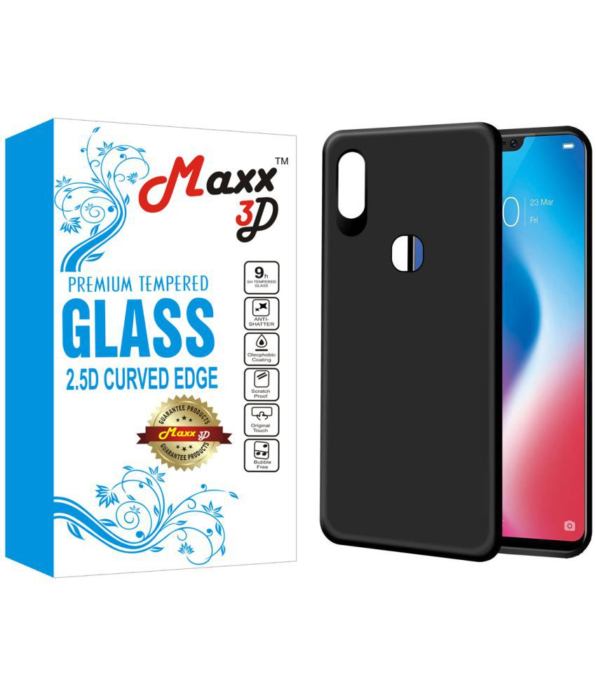 Vivo V9 Shock Proof Case MAXX3D - Black