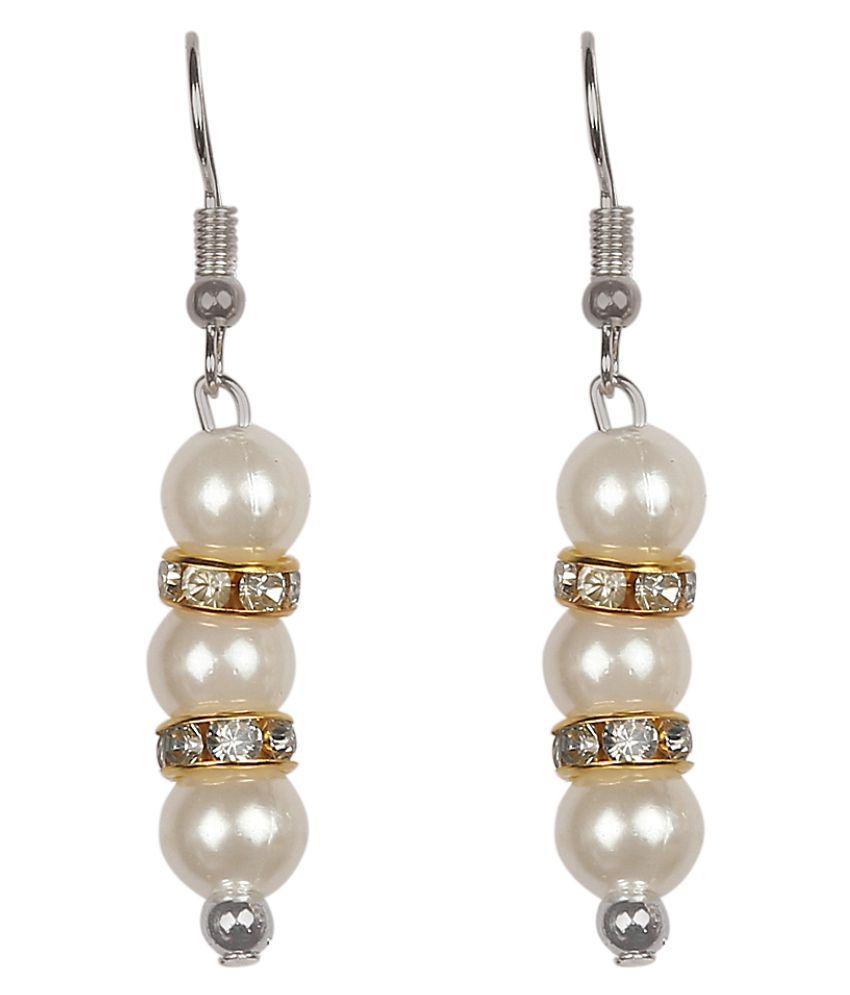 Fashionable earring Alloy Stud Earring Alloy Stud Earring _ White