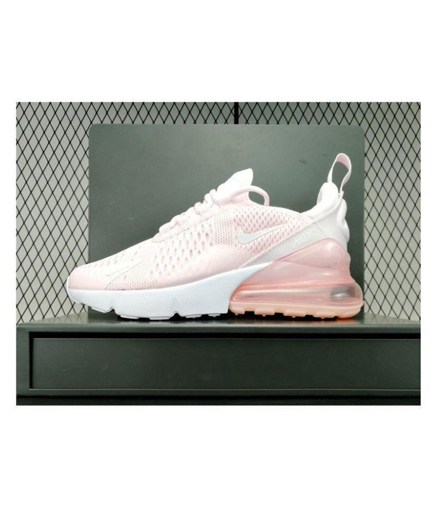 248660401bdb5e Nike Air Max 270 Pink Womens Running Shoes Price in India- Buy Nike ...