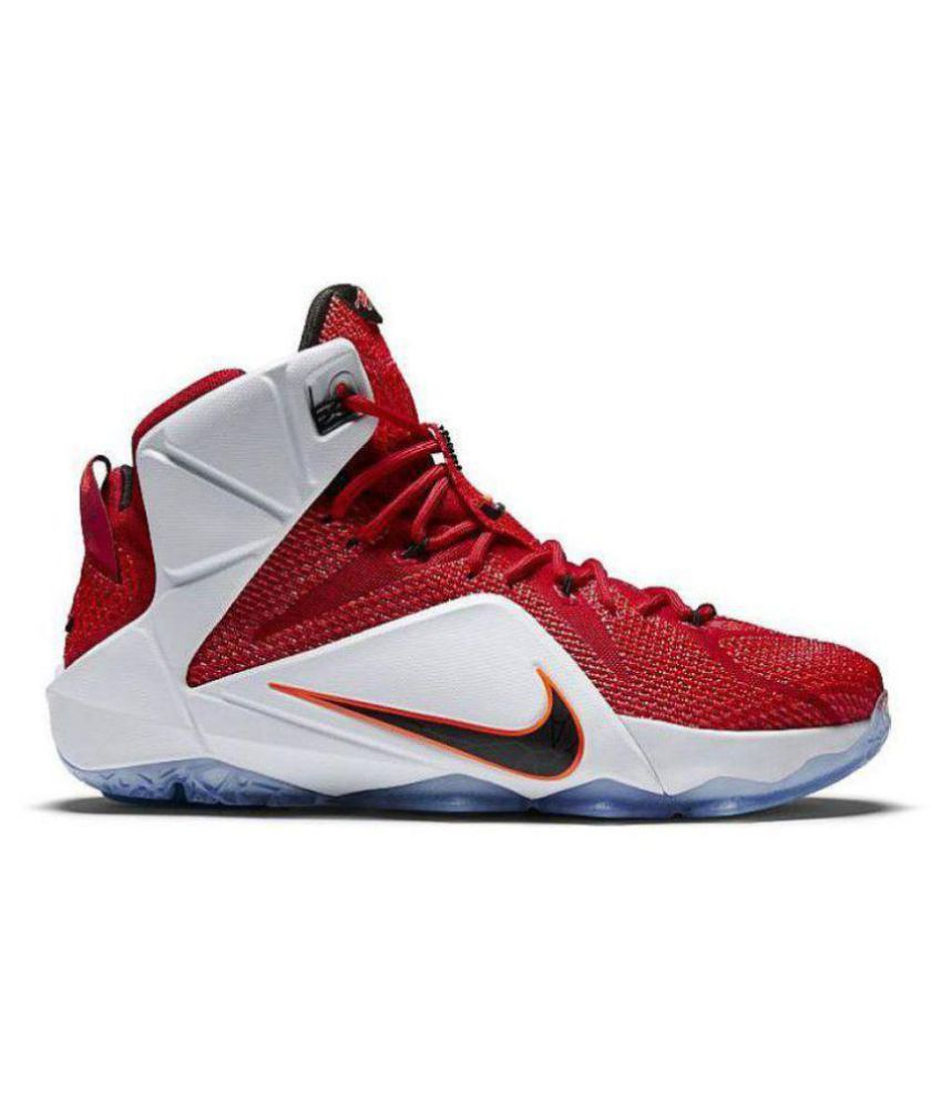newest 96878 a9524 Nike Lebron X11 Heart Of A Lion 2018 Midankle Male Red