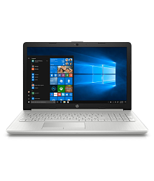 HP 15 DA0327TU Core i3 (7th Gen) / 4GB RAM / 1TB HDD / Windows 10 Home / Integrated Graphics / Silver