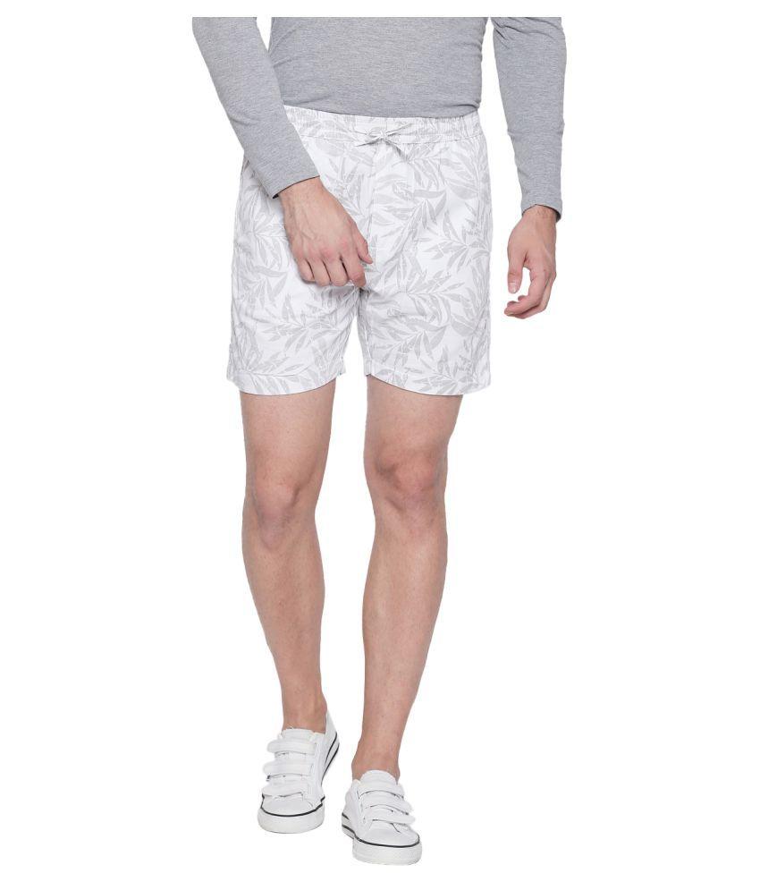 Beevee White Shorts