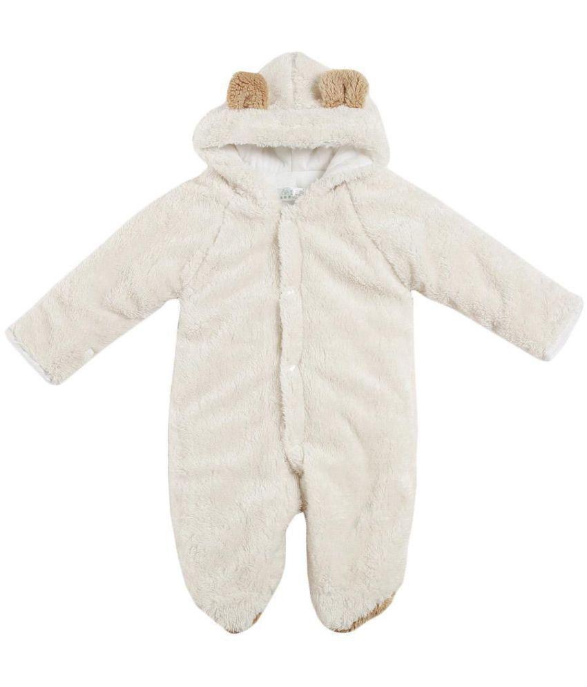 908553daa6c8 Baby Romper Cartoon Animal Hooded Warm Jumpsuits Autumn Winter Baby ...