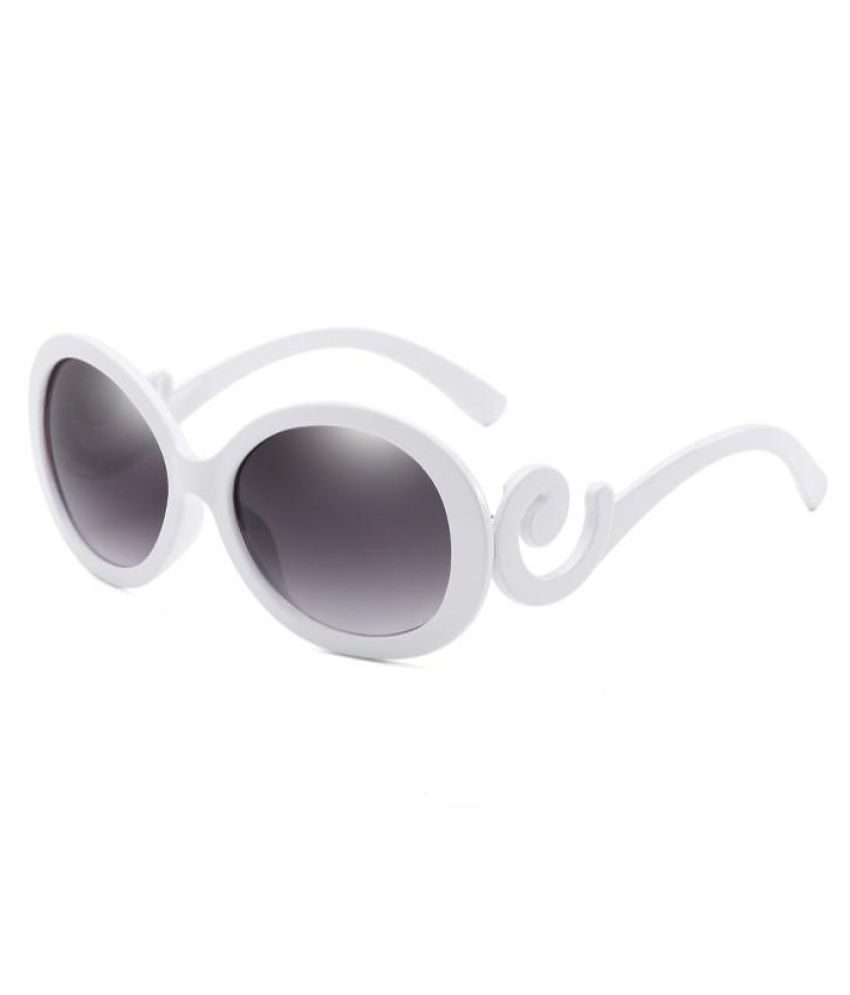 Generic White Round Sunglasses ( unknown )