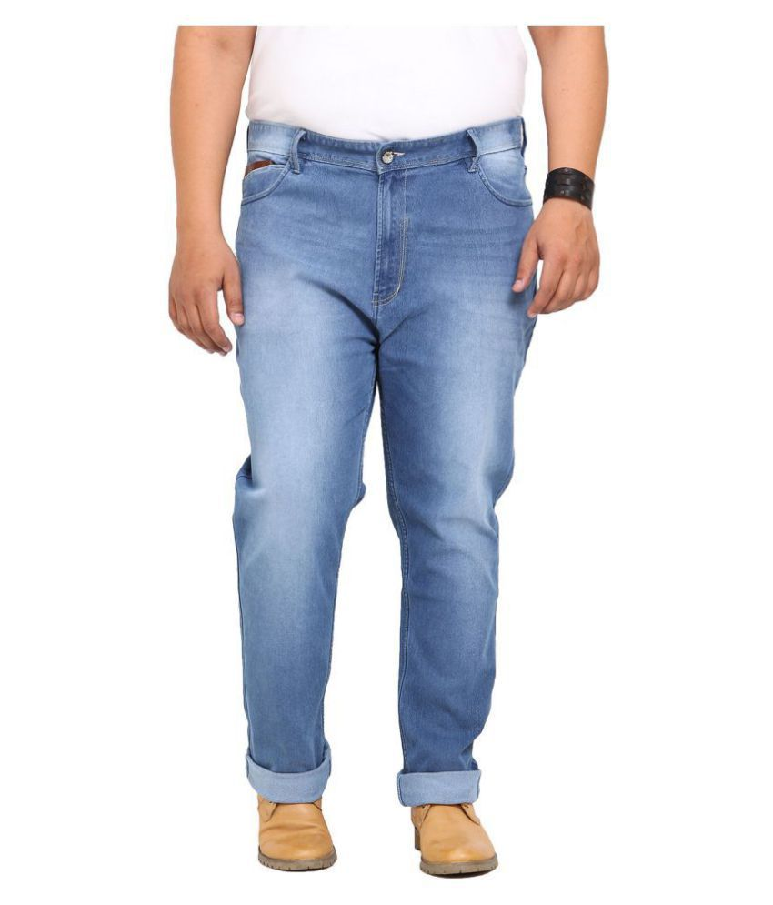 John Pride Light Blue Regular Fit Jeans