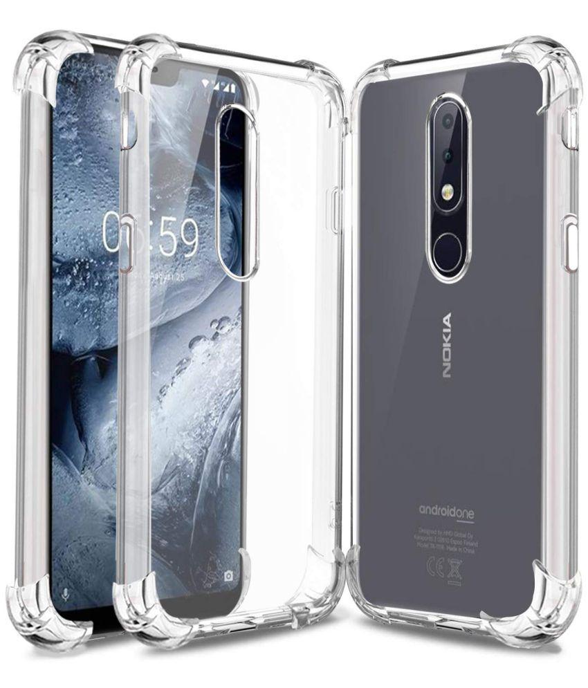 Nokia 6.1 Plus Shock Proof Case Bracevor - Transparent