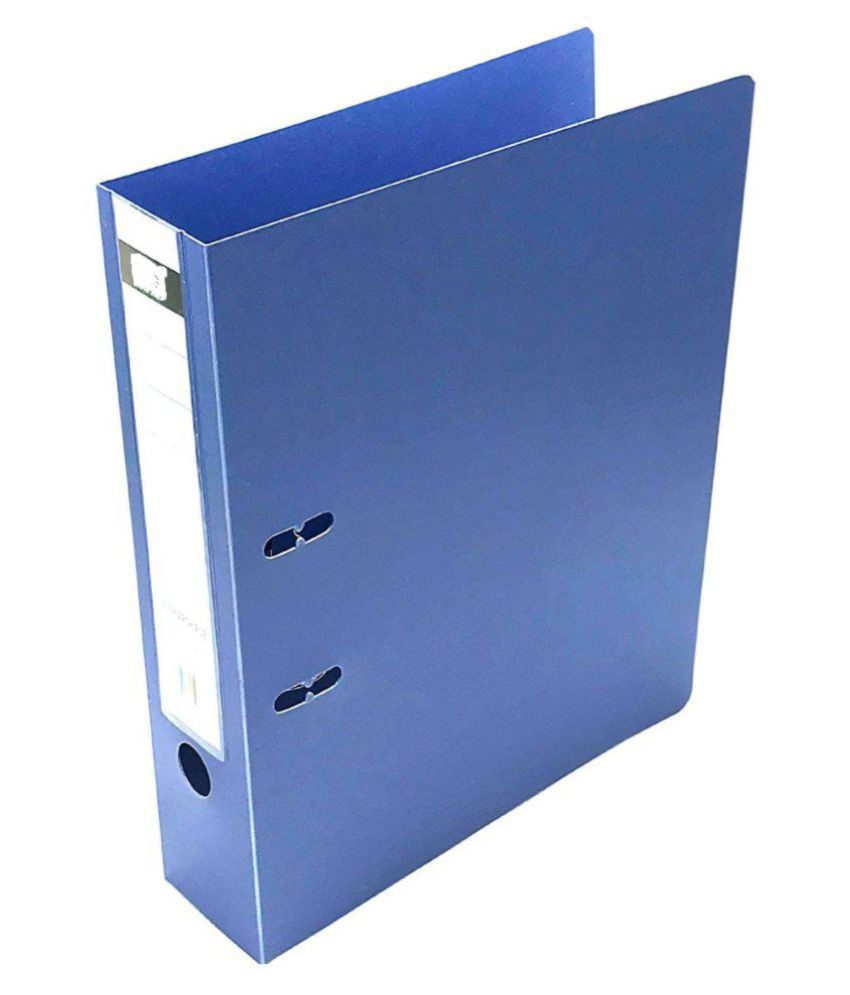 2 Pack Executive polymar Box File, /Corporate Series FC Lever Arch file - Office Documents & Certificates Storage- Blue