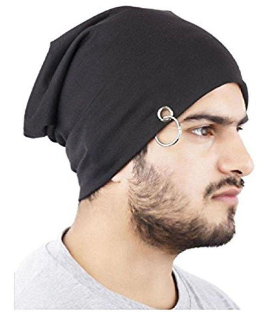 Kausal Kf Black Benies Ring Caps for Boys