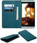 Gionee Gpad G4 Flip Cover by ACM - Blue Wallet Case,Can store 3 Card/Cash