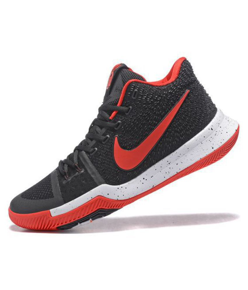 innovative design e976b 54cd9 Nike Kyrie 3 Gum Red Black Basketball Shoes - Buy Nike Kyrie 3 Gum Red  Black Basketball Shoes Online at Best Prices in India on Snapdeal