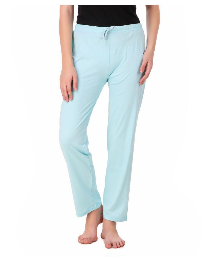 Masha Cotton Pajamas - Blue