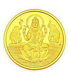 Gold Coins & Bars: Buy 24Kt Gold Coins & Bars Online at Best