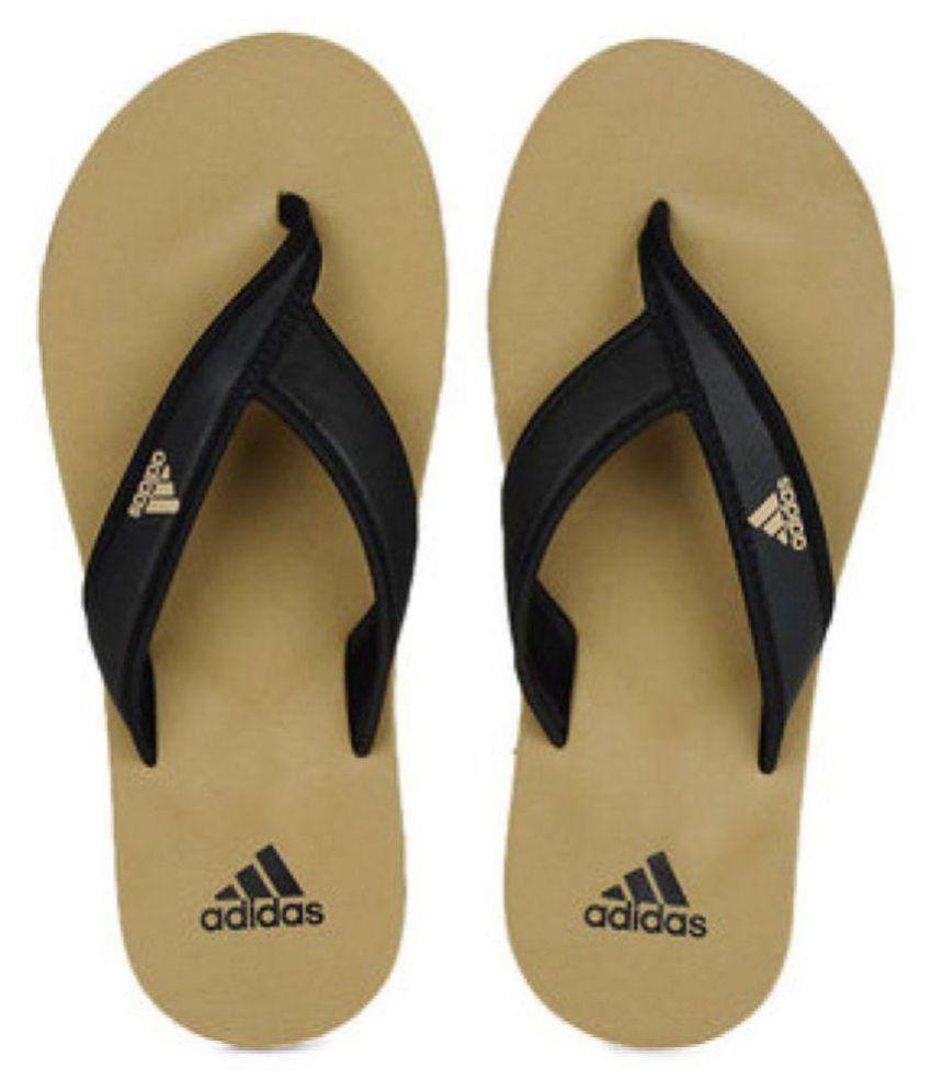 925717dfb4db Adidas Khaki Thong Flip Flop Price in India- Buy Adidas Khaki Thong Flip  Flop Online at Snapdeal