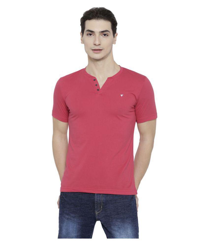 Neva Pink Half Sleeve T-Shirt