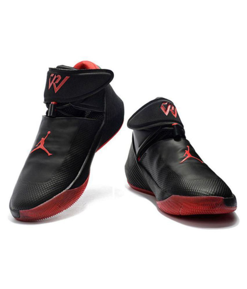 45e7b8229b0bf7 Nike jordan why not 0.1 Black Basketball Shoes - Buy Nike jordan why not  0.1 Black Basketball Shoes Online at Best Prices in India on Snapdeal