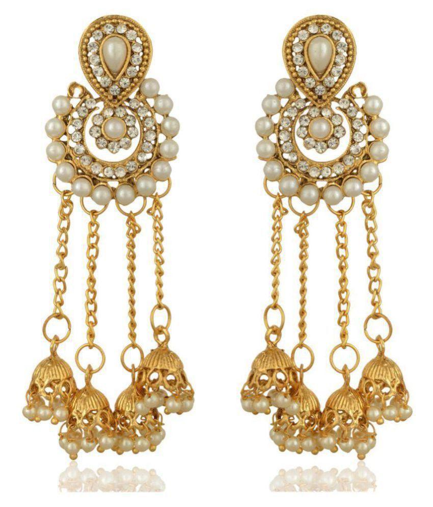 Reeti Fashions - Bahubali Devsena inspired earrings