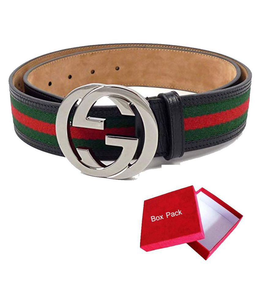 adff8d21fd2 gucci t Multi Leather Casual Belt - Pack of 1  Buy Online at Low Price in  India - Snapdeal