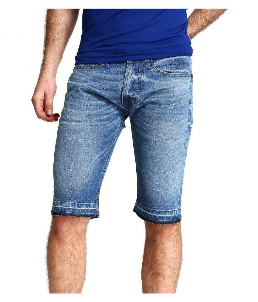 FAMOUS JEANS Black Shorts
