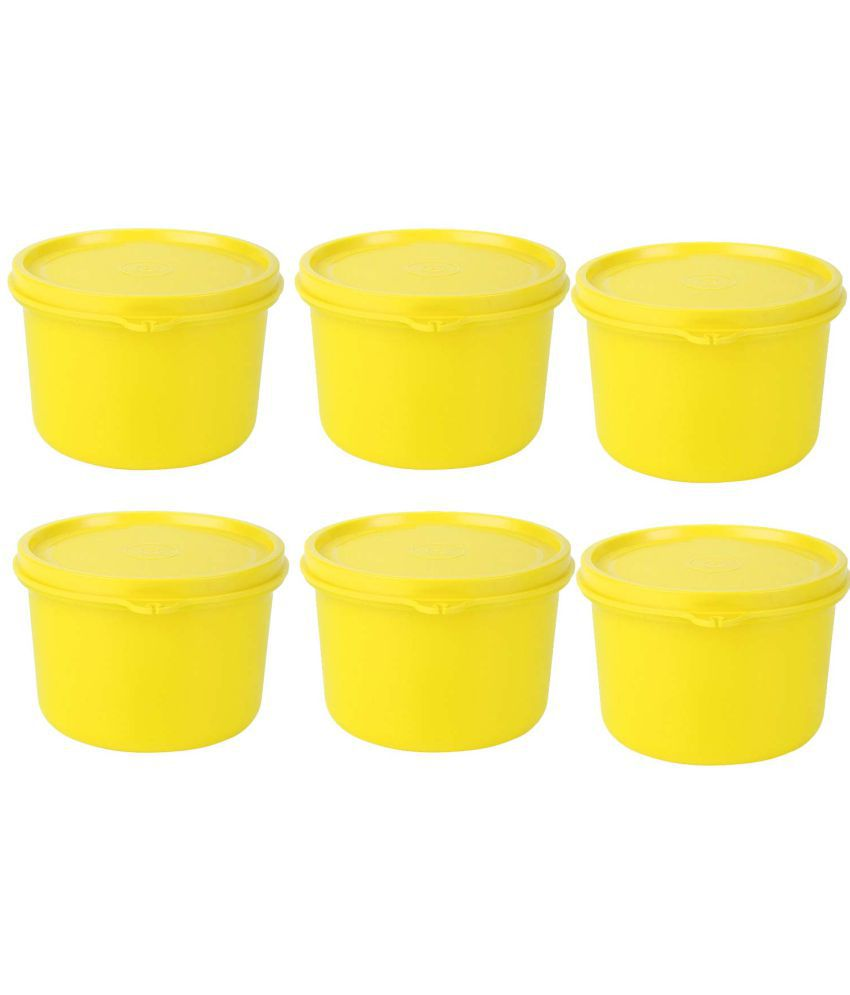 GreenViji Polyproplene Food Container Set of 6