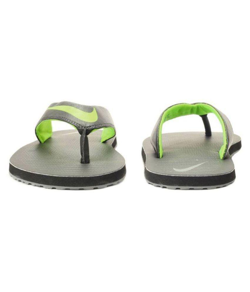 hot sales b45e2 975fe Nike Green Thong Flip Flop
