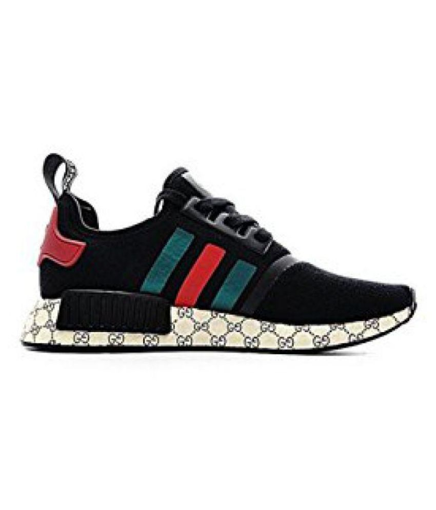 8662765088f Adidas Gucci Running Shoes Black  Buy Online at Best Price on Snapdeal