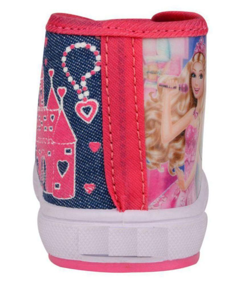 8e7d01f888d6 Pollo Pink Shoes for Girls Price in India- Buy Pollo Pink Shoes for ...