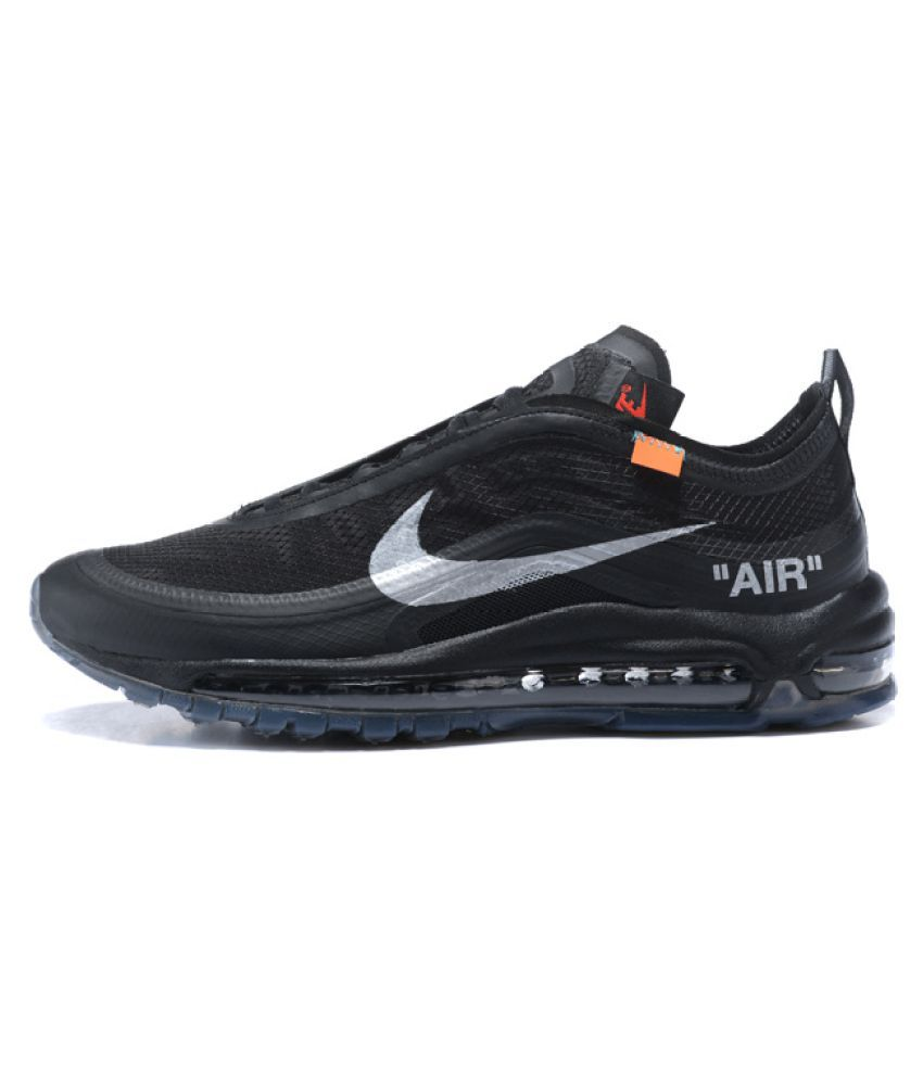 91431ad425e3 Nike Air Max 97 Off-White x 2019 LTD Running Shoes Gray  Buy Online at Best  Price on Snapdeal