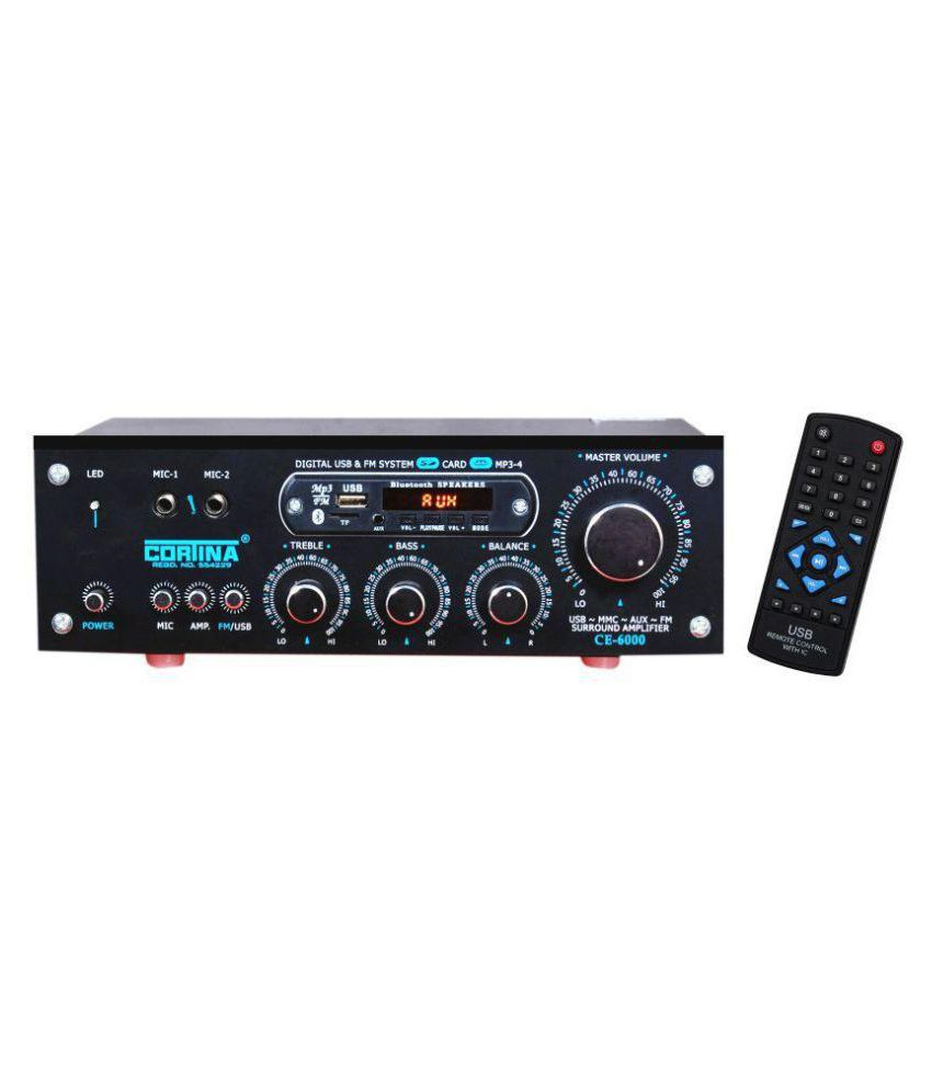 Cortina Ce 6000 Bluetooth 3055 Transistor Amplifier Pa Audio Mixer With One Head