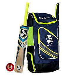 bff19a563bc Quick View. SG Nexus Plus Club Ezeepak Cricket Kit (1 Kashmir Willow  Cricket Bat ...