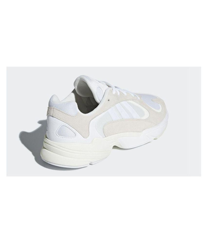 newest collection d22b9 e3633 Adidas Yung 1 Running Shoes White  Buy Online at Best Price on Snapdeal