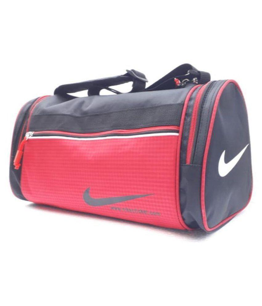c53c64d22733 Nike Medium Canvas Gym Bag Travel Bag - Buy Nike Medium Canvas Gym Bag Travel  Bag Online at Low Price - Snapdeal