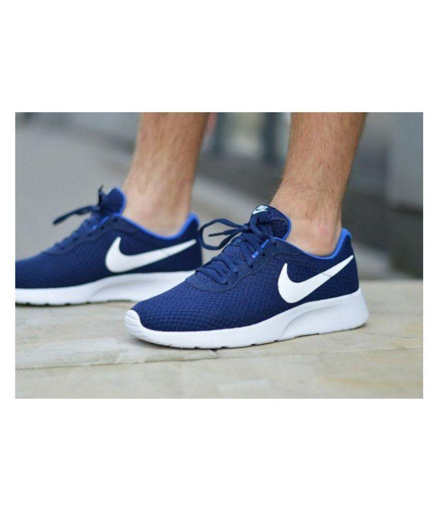świetne okazje 2017 dostępny Cena fabryczna Nike Tanjun Running Shoes Blue: Buy Online at Best Price on ...