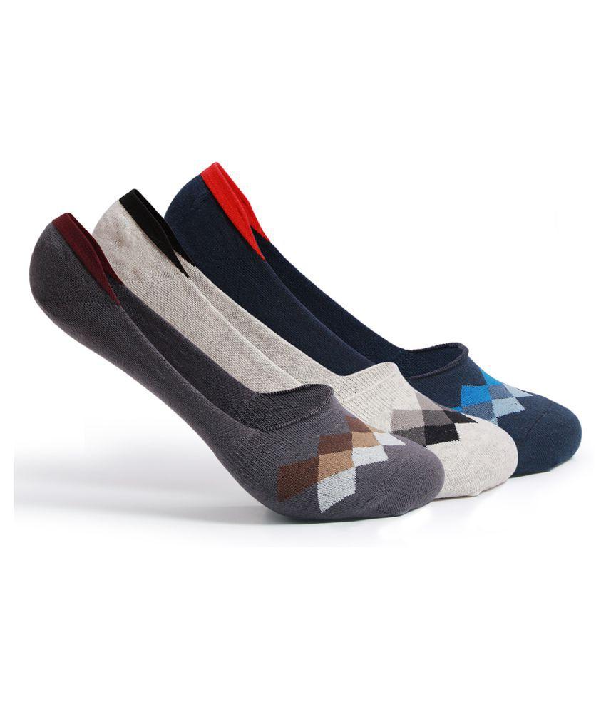Supersox Multi Casual No Show Socks