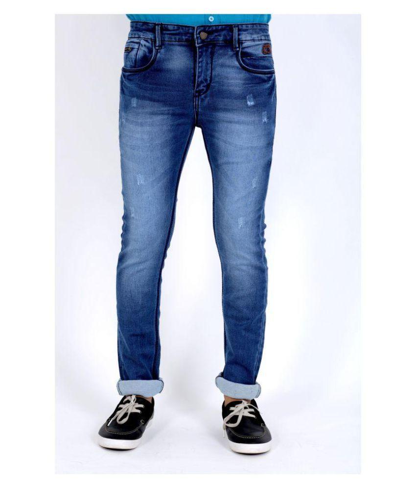 POSH EXCLUSIVE FOR MEN Blue Slim Jeans