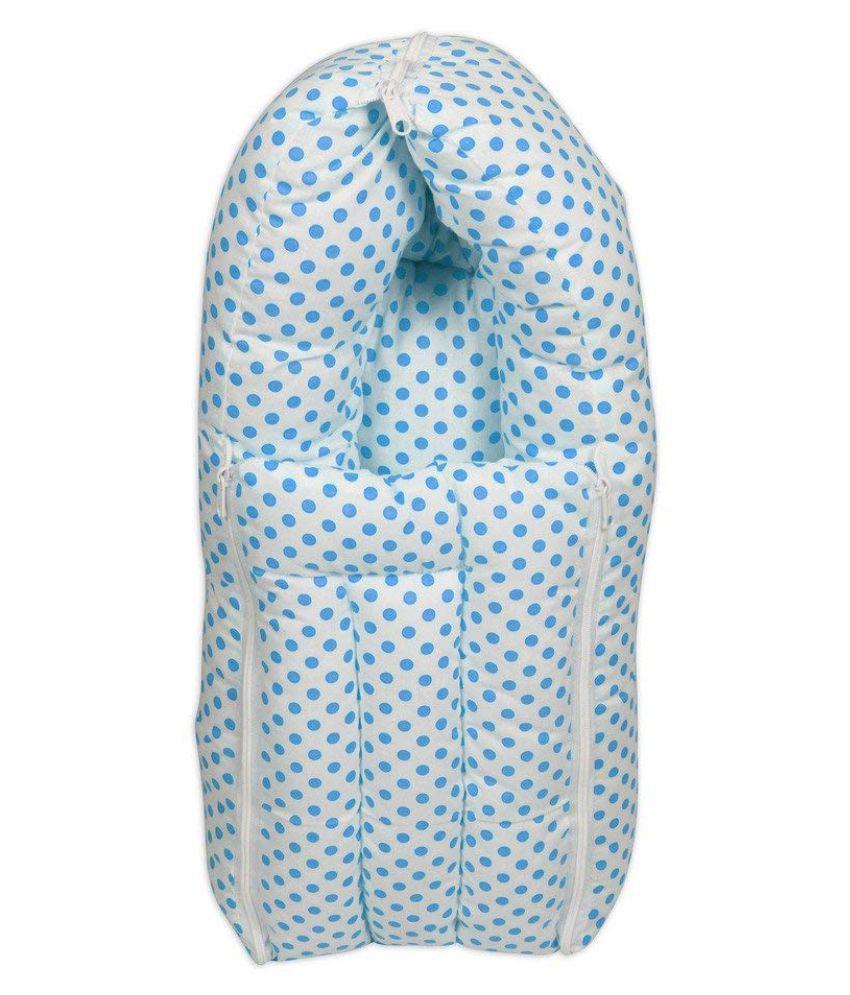 BAYBEE Blue Cotton Sleeping Bags ( 50 cm × 20 cm)