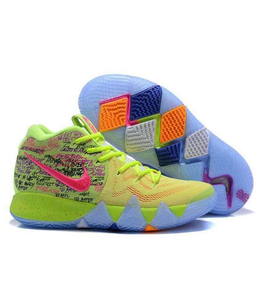 "buy online cb2ca 09e85 Nike Kyrie 4 ""Confetti"" Multi Color Basketball Shoes"