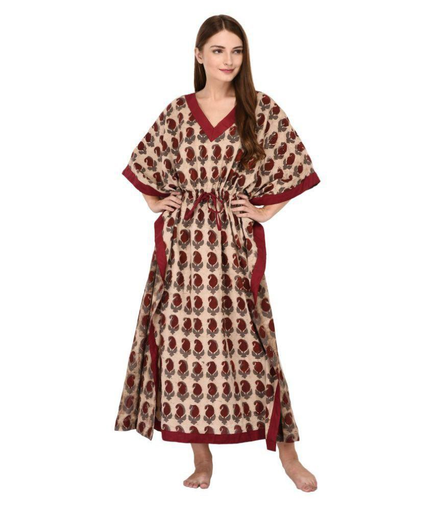 enjoy cheap price really cheap wholesale price YAYA Cotton Nighty & Night Gowns - Multi Color