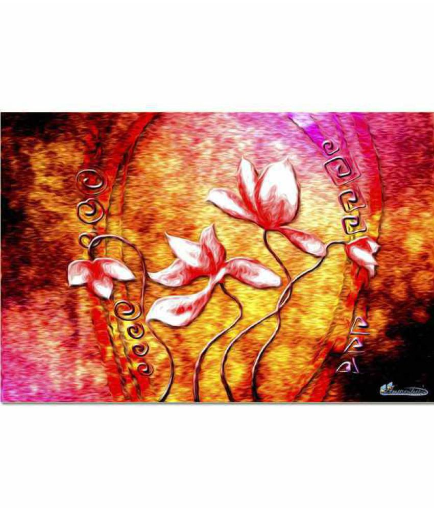 Anwesha's Canvas Painting With Frame