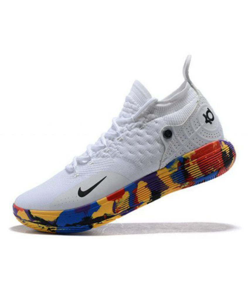 "sports shoes 0f931 f2ffe ... Nike Zoom KD 11 ""EP"" LTD 2018 White Basketball Shoes ..."