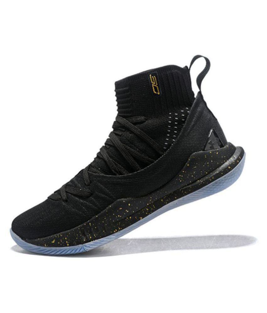 68b0836d8479 Under Armour CURRY Black Basketball Shoes - Buy Under Armour CURRY Black  Basketball Shoes Online at Best Prices in India on Snapdeal