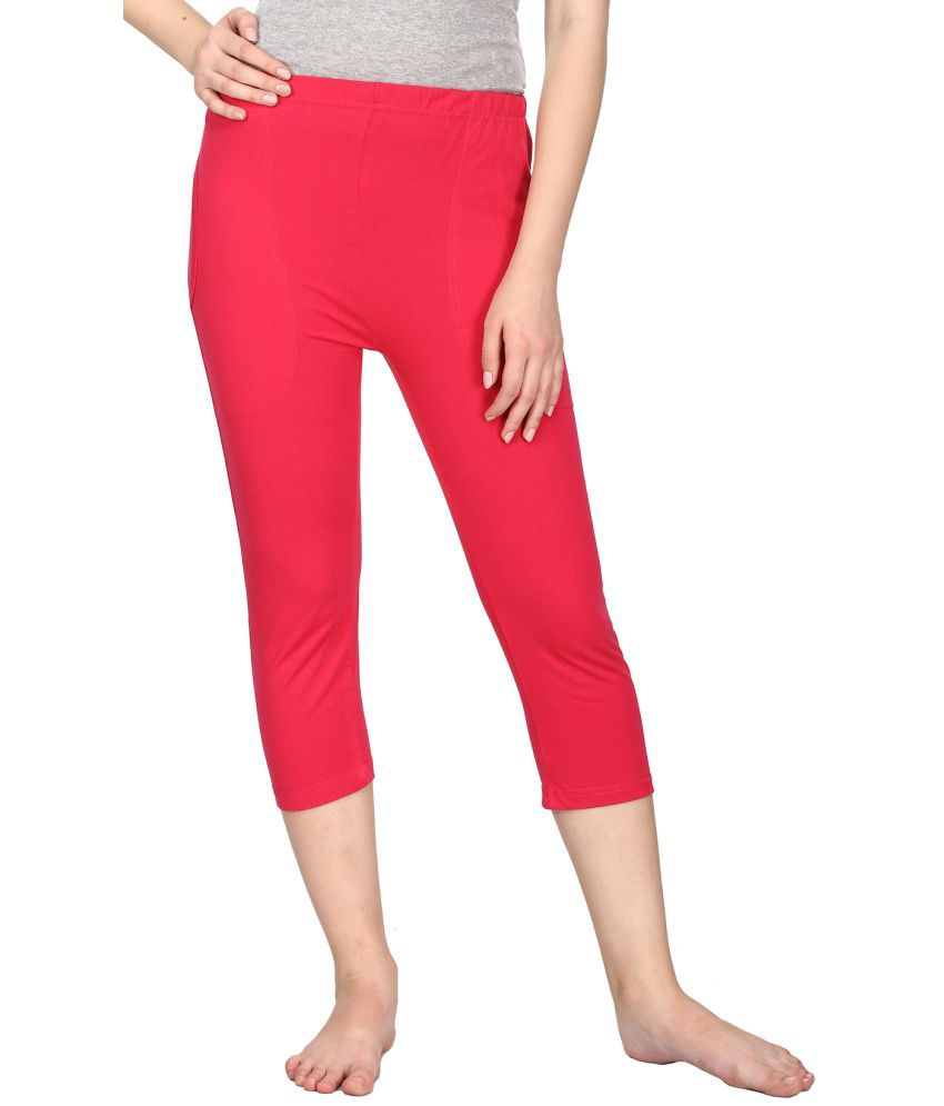 NEUVIN Cotton Jeggings - Pink