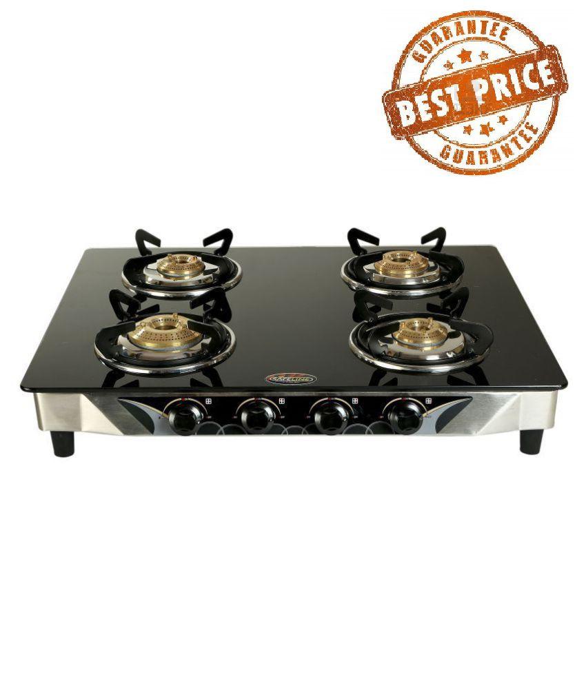 safeline curve black 4b 4 burner manual gas stove price in india rh snapdeal com