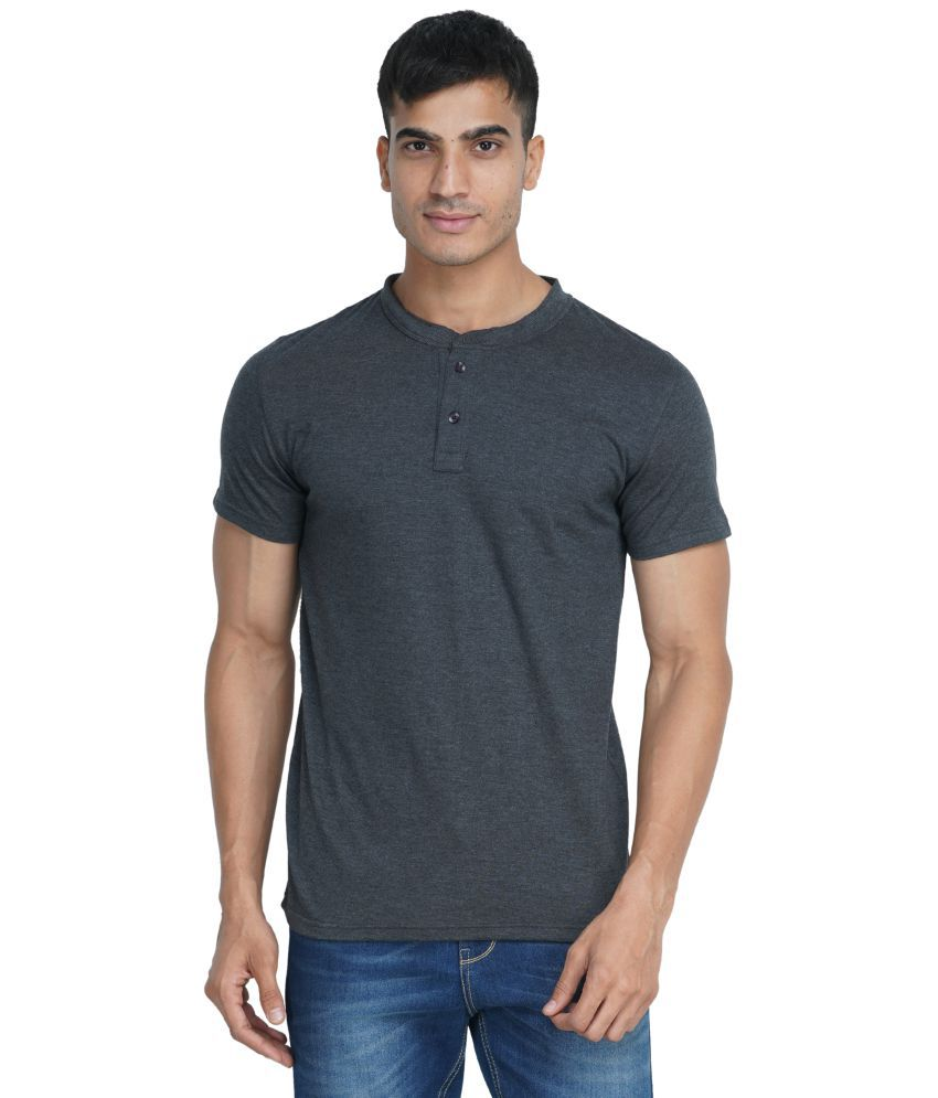 Wake Up Competition Grey Half Sleeve T-Shirt Pack of 1